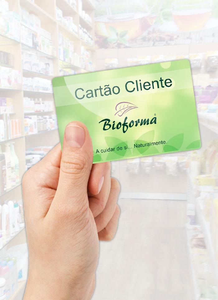 Cartão Cliente Bioforma