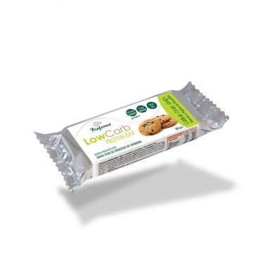 Barra Low carb & Protein Cookie dough 60g BIOFORMA