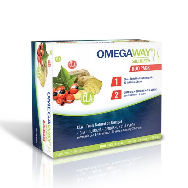 OMEGAWAY® SILHUETA DUO PACK 60 + 60 caps