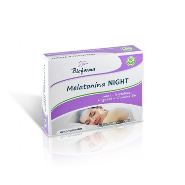 Melatonina NIGHT 40 comp BIOFORMA