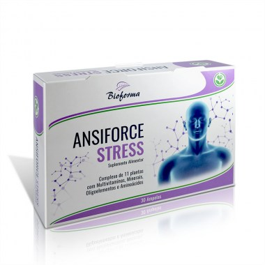Ansiforce STRESS 30 ampolas BIOFORMA