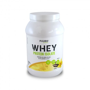 WHEY Protein Isolate Baunilha 700g PUURO NUTRITION