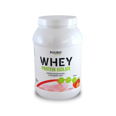 WHEY Protein Isolate Morango 700g PUURO NUTRITION