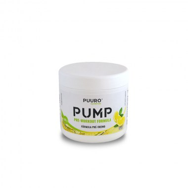 Pump Pre-Workout Limão 300g PUURO NUTRITION
