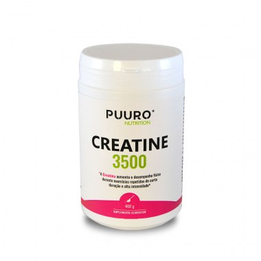 Creatine 3500 pó 400g PUURO® NUTRITION