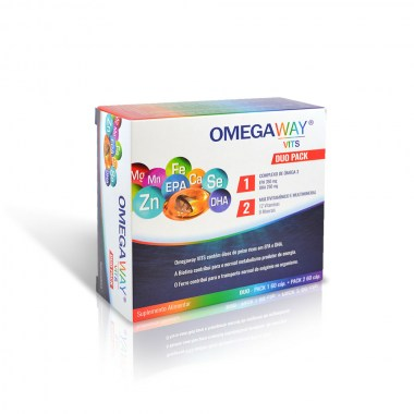 OMEGAWAY® VITS DUO PACK 60 + 60 caps